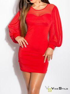 Como nos gusta este  vestido! Ideal para cualquiera de tus eventos esta primavera! www.vicestilo.com