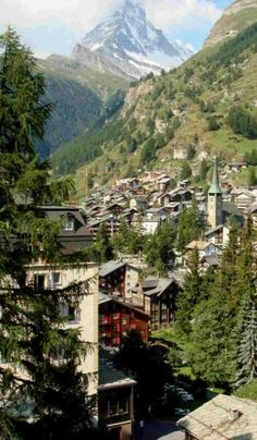 Beautiful Zermatt http://www.travelandtransitions.com/european-travel/