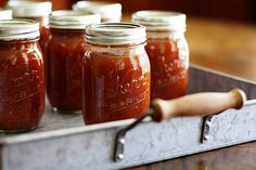 Restaurant Style salsa...and how to can it yourself. (Seems like we should call it jarring to me)