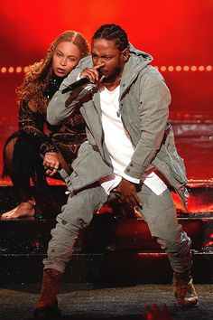 """beyoncefashionstyle: """" Beyonce X Kendrick Lamar - BET Awards """""""