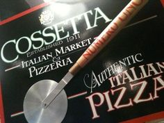 Cossetta Pizza for supper tonight