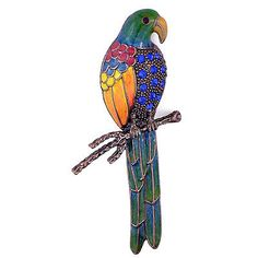 Stunning Large Bright Toucan Bird Diamante Brooch Pin New Great Gift Profit Small Brooches & Pins