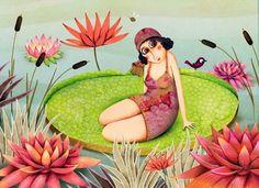 marie desbons | Marie Desbons, Children's Books Illustrations (France) ~ Blog of an ...
