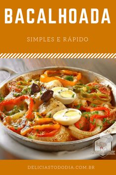 Bacalao Recipe, Easy Cooking, Cooking Recipes, Brazilian Dishes, Cod Fish Recipes, Meals On Wheels, Portuguese Recipes, Fish Dishes, Special Recipes