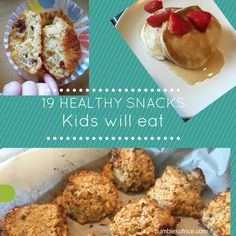 19 Healthy Snacks My Kids Will Actually Eat - Bumbles of Rice Healthy Bedtime Snacks, Healthy Protein Snacks, Quick Snacks, Healthy Cookies, Healthy Snacks For Kids, Healthy Recipes, Butter Chocolate Chip Cookies, Baking With Kids, How To Cook Chicken