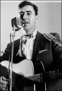 """Country singer Johnny Horton, whose best-known songs include """"The Battle of New Orleans"""" and """"North to Alaska,"""" died at age 35 in a car crash in Milano, Texas, on Nov. Country Music Artists, Country Music Stars, Country Singers, Music Icon, My Music, Rock And Roll, Battle Of New Orleans, North To Alaska, Folk Music"""