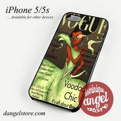 tiana disney vogue magazine Phone case for iPhone 4/4s/5/5c/5s/6/6 plus