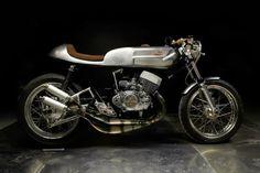 Habermann & Sons Classic Motorcycle Clothiers — La Bomba - 1974 Kawasaki H1 by Valtoron, Spain