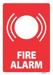 Fire Alarm Call Point 340x240mm