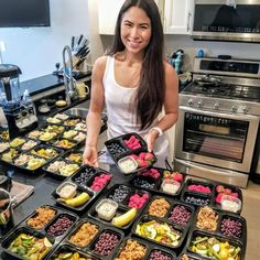 Quick Meals For Two, Healthy Meals For Two, Meal Prep For The Week, Healthy Meal Prep, Fitness Meal Prep, Easy Meals, Freezer Meals, Healthy Packed Lunches, Prepped Lunches