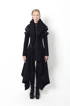 Front of Clara's coat