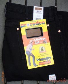 Wrangler Mens 13MWZWK Cowboy Cut Black Denim Jeans See List NWT #Wrangler #ClassicStraightLeg