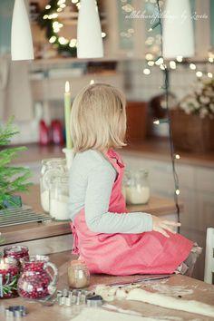 helping mama bake this Christmas