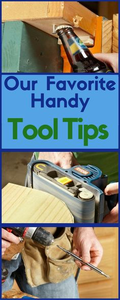 When it comes to DIY experience and expertise, nobody can match The Family Handyman's Field Editors. This crew is made up of homeowners from across North America, pros in every building trade you can name, and technical experts like engineers and chemists. Here are their best tool tips. Essential Woodworking Tools, Antique Woodworking Tools, Woodworking For Kids, Woodworking Clamps, Woodworking Projects, Diy Projects, Woodworking Lessons, Grizzly Woodworking, Woodworking Organization