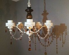 Check out this item in my Etsy shop https://www.etsy.com/listing/265505703/shabby-chic-light-vintage-lighting