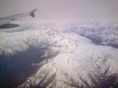 Cordillera de los Andes, vista aerea 4