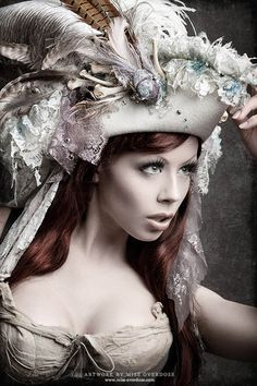 Not your everyday head-piece. A pirate hat fierce enough to part seas.