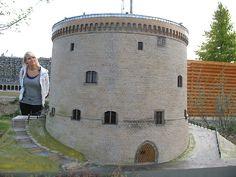 Der Zwinger in Goslar als Miniaturbauwerk.