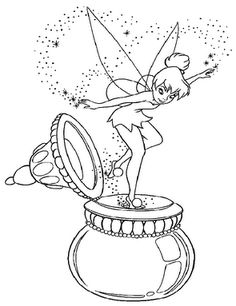 Erotic Tinkerbell Coloring Pages