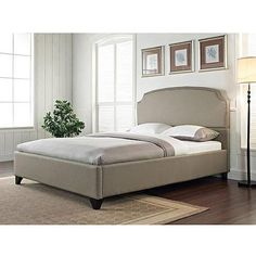 1000 Ideas About Upholstered Bed Frame On Pinterest Bed