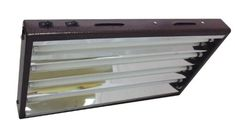 SupremeHydroponics 42840 HO T5 2Tube Fixture with Reflectors 2Feet -- Click image to review more details.