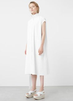 Premium Collection Cotton poplin Classic collar Side pockets Bow on the waist Short sleeve Button fastening on the front section Poplin, Ukraine, Latest Trends, Cold Shoulder Dress, Short Sleeves, High Neck Dress, Dresses For Work, Shirt Dress, Coat