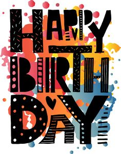 Happy Birthday Lettering by TrueLettering on @creativemarket
