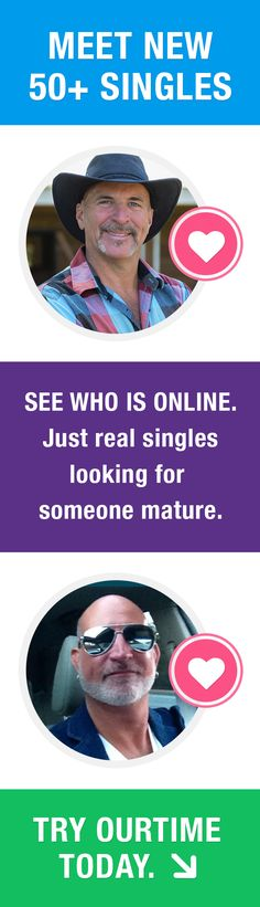 Are you single and looking for a date? Browse pictures and profiles of mature men near you and find a meaningful relationship.  Signing up is fast and easy - See who is online.