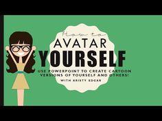 Making Avatars on PowerPoint Powerpoint Games, Microsoft Powerpoint, Microsoft Word, Microsoft Office, Make Avatar, Geek Gadgets, School Stuff, Classroom Ideas, Accounting