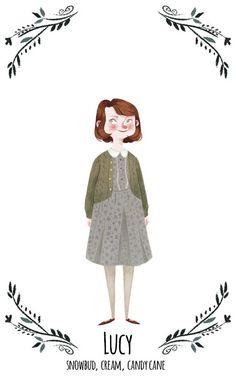 Lucy Pevensie by Taryn Knight #narnia #fanart