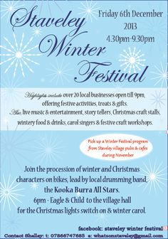 Staveley Winter Festival