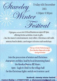 Staveley Winter Festival