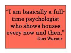 Quote de Jour 11/12/13 from Dallas Realtor, Dori Warner.