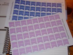 Fitness Cardio Weights Flags Stickers for your Life Planner, Calendar, Plum Paper, Filofax by katy010305 on Etsy
