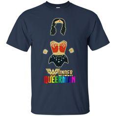 Wonder Woman T shirts Wonder Queerman Shirts Hoodies Sweatshirts