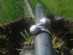 Sterling silver hedgehog animal rings and jewellery