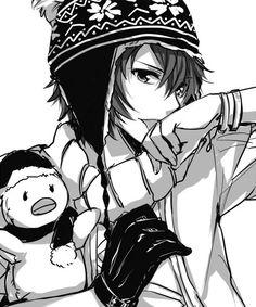 blue eyes black and white anime Hot Anime Boy, Cute Anime Guys, I Love Anime, Anime Boys, Anime Chibi, Kawaii Anime, Anime Manga, Anime Art, Noragami
