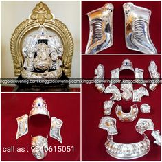 Happy Ganesh Chaturthi Images, Silver, Gold, Yellow, Money