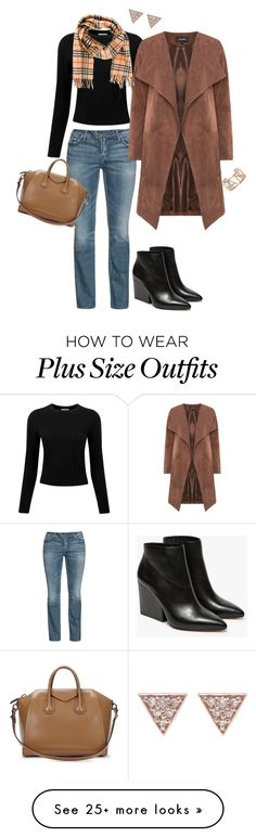 """43-3"" by afashionpage on Polyvore featuring Pure Collection, Silver Jeans Co., Loeffler Randall, Givenchy, Burberry, ADORNIA, Chanel, PersonalStyling, weeklyoutfitplanner and closetfullofoutfits"