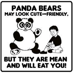 Heheteehee~~ I'm A Panda =>