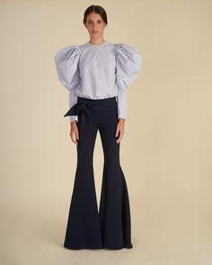 Shop the look by Silvia Tcherassi Fashion 2020, Fashion Show, Fashion Design, Fashion Trends, Nice Dresses, Casual Dresses, Estilo Fashion, Fashion Pants, Couture