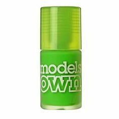 Models Own Iced Neon Nail Polish Toxic Apple