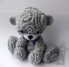 amigurumi teddy bear - Buscar con Google