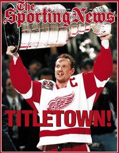 #steve yzerman #Detroit Red Wings