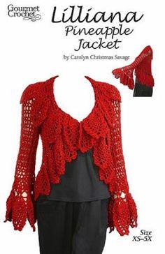 Maggie's Crochet · Lilliana Pineapple Jacket Pattern