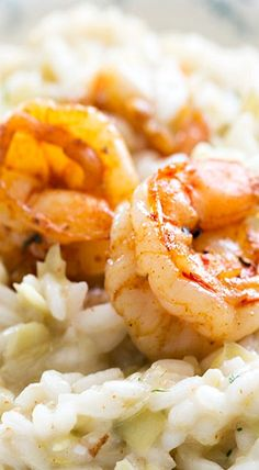 Artichoke and Shrimp Risotto
