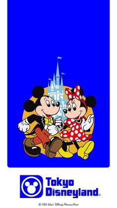 Retro Disney, Vintage Disney, Tokyo Disney Resort, Tokyo Disneyland, Walt Disney, Disney Phone Backgrounds, Pink And White Weddings, Disney Posters, Disney Crafts