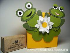 Tarheel Stamper: Stampin' Up! Punch Art Frogs
