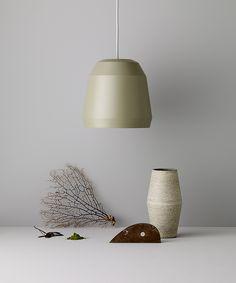 Mingus P1 Pale Moss designed by Cecilie Manz http://www.lightyears.dk/lamps/pendants/mingus-pale-moss.aspx