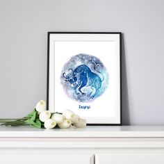 Items similar to Taurus Zodiac Sign Print, Astrology Star Sign Poster, Taurus the Bull Printable Art on Etsy Rgb Color Space, Taurus Constellation, Astrology Stars, Mermaid Invitations, Holiday Gift Tags, Wall Decor, Wall Art, Sign Printing, Affordable Art